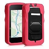 kwmobile Carcasa Compatible con Bryton Rider 750 - Funda de Silicona para GPS - Cover en Rojo