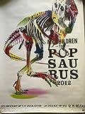 Mr.Children -TOUR-POPSAURUS 2012 告知ポスター