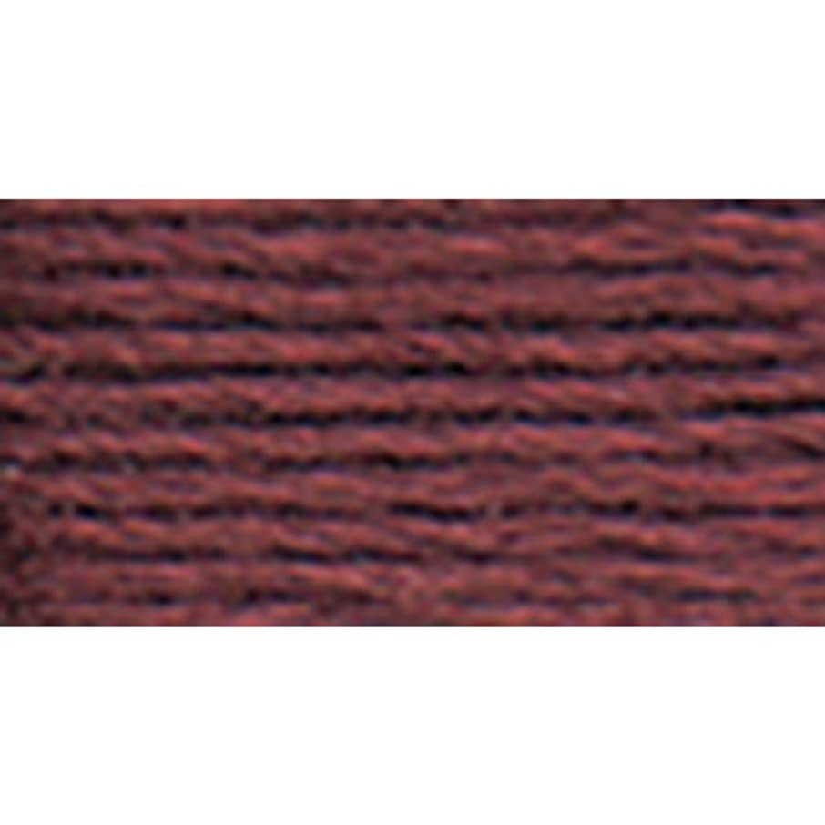 DMC 117-3802 Mouline Stranded Cotton Six Strand Embroidery Floss Thread, Dark Antique Mauve, 8.7-Yard