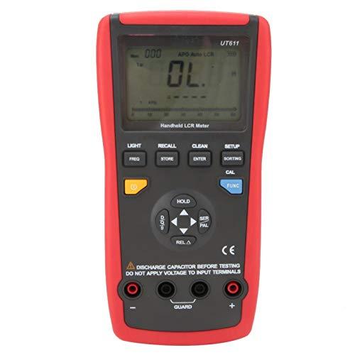 Digitaler Kapazitätstester, Handheld-Multimeter mit 6000er Zählung, Multimeter, professioneller digitaler Frequenztester für die Inspektion von Komponenten in Produktionslinien