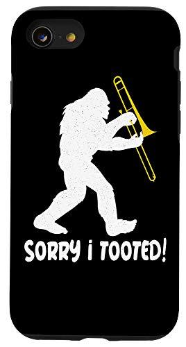 iPhone SE (2020) / 7 / 8 Bigfoot Band Funny Trombone Sasquatch Case
