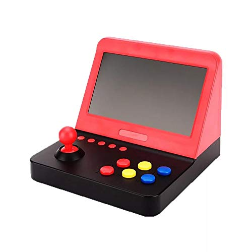 perfecthome Consola de Juegos portátil HD Arcade de Pantalla Grande de 7 Pulgadas, Consola de Juegos domésticos AIWO Arcade 3000