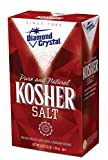Diamond Crystal Kosher Salt – Full Flavor, No Additives and Less Sodium - Pure and Natur...