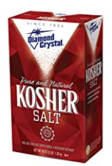 No Additives & Less Sodium: The only pure kosher salt with 53% less sodium by volume compared to regular table salt. Perfect for everyday use. Maximum Flavor: Acclaimed by professional chefs, foodies and home cooks for bringing out uncompromised flav...