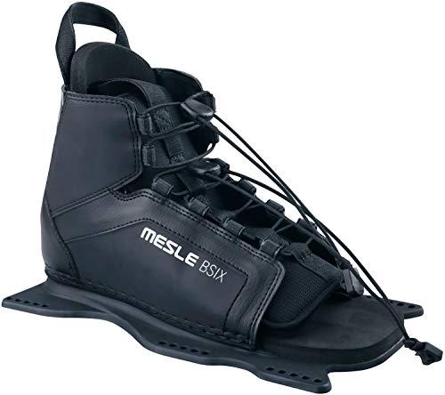 MESLE Wasserski Bindung B6, Slalom Ski Mono Bindung, Front-Boot One-Size, schwarz