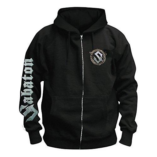 MAM Online Sabaton - Heroes - Kapuzenjacke/Zipper Größe M
