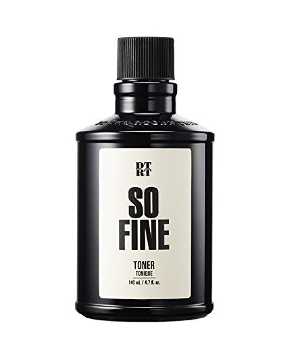 クレタ子羊他にDTRT トナーソファイン140ml For men / DTRT So Fine Toner / Korea Cosmetic