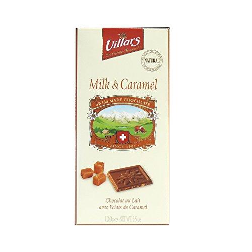 Villars - Milk & Caramel Chocolate Bar - 100g