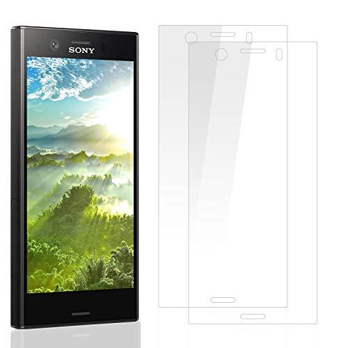 DOSMUNG [2 Pezzi Vetro Temperato per Sony Xperia XZ1 Compact, Pellicola Vetro per Sony Xperia XZ1 Compact Facile da Installare/Senza Bolle/3D Touch/9H Durezza Xperia XZ1 Compact Pellicola Protettiva