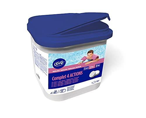 Gre 76033 - Trattamento 4 Azioni 5kg, pastiglie da 20g