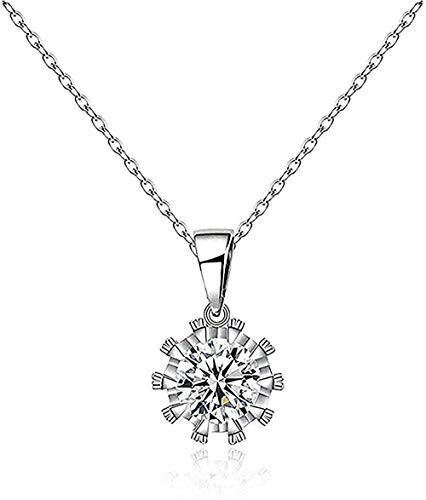 Collar Collar de clavícula Collar con colgante de corona tridimensional Collar de mujer con cadena Regalo Collar de niño para niñas