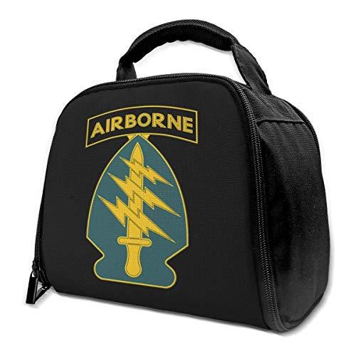 NHH United States Army Special Operations Command Isolierte Tasche Lunch Bag Isolierte Lunch Box Einkaufstasche Kühltasche Für Picknickarbeiten