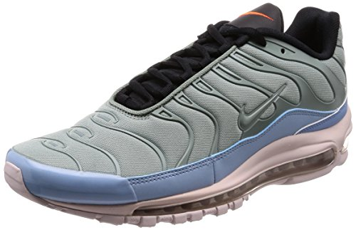 Nike Air Max 97 Plus, Scarpe da Ginnastica Uomo, Multicolore (Mica Green/Leche Blue/Black/Barely Rose 300), 40 EU