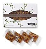 Grandma's Fruitcake Slices Individually Packaged in Gift Box | Old World Traditional Recipe with...