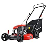 PowerSmart Lawn Mower, 21-inch & 170CC, Gas Powered Push Lawn Mower with 4-Stroke Engine, 3-in-1 Gas...