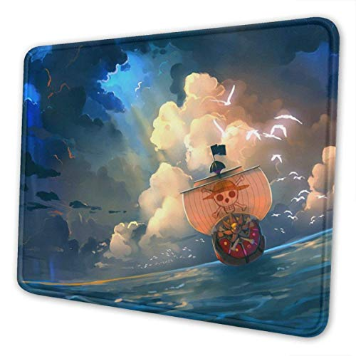 Gummiunterseite,Pad Maus Unterlage,Anti Rutsch Matte,Mausmatte,30X25Cm,Anti Slip Gaming Mouse Pad,One Piece Thousand Sunny Ship