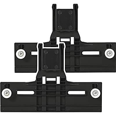 """[Upgraded] W10350376 Dishwasher Top Rack Adjuster 0.9"""" Diameter Wheels with STEEL Screws Replacement part by Blue Stars – Exact Fit For Whirlpool & Kenmore Dishwashers - PACK OF 2"""