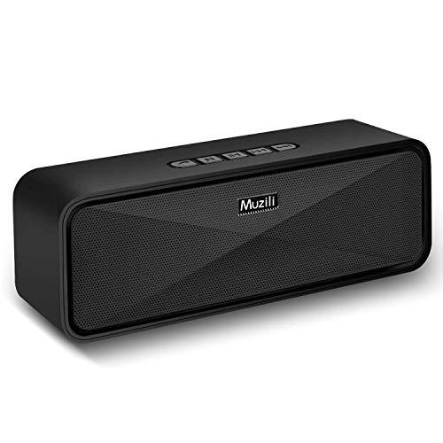 Muziliブルートゥース スピーカー Bluetooth スピーカー speaker 耐久性 ハンズフリー通話 コスパ最高