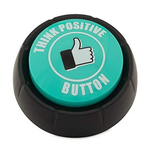 Motion Design Think Positive Button Motivational Sounds Funny Inspirational Teachers Kids Sports Home Office Inspiration