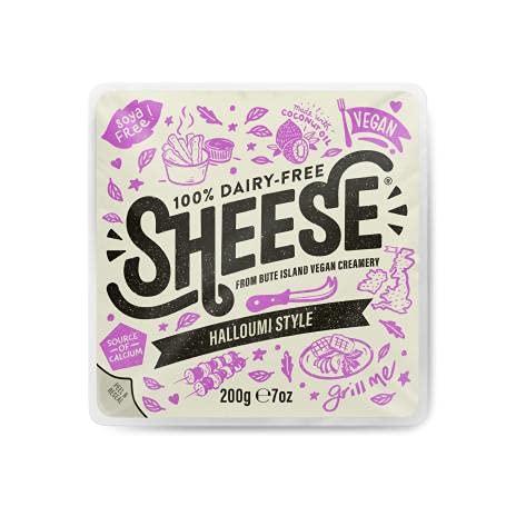 Queso Estilo Halloumi Vegan Grilled Sheese 200 gr