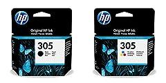 HP 305 Tintenpatrone, Schwarz, Dreifarbig