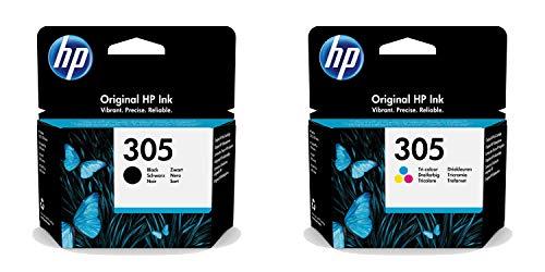 HP HP 305 Tintenpatrone, Schwarz, Dreifarbig Bild