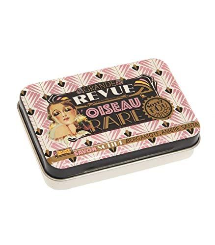 Natives, boîte avec savon senteur Bergamote, Ambre, Santal\