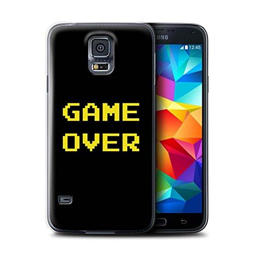 Stuff4® Hülle/Case für Samsung Galaxy S5 Neo/G903 / Game Over Muster/Retro Arkade Spiele Kollektion