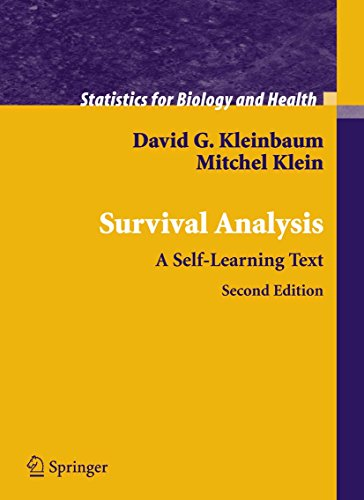 Survival Analysis: A Self-Learning Text (Statistics for Biology and Health)