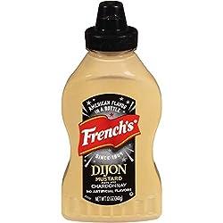 French's Dijon Mustard Squeeze Bottle, 12 oz, Chardonnay Mustard