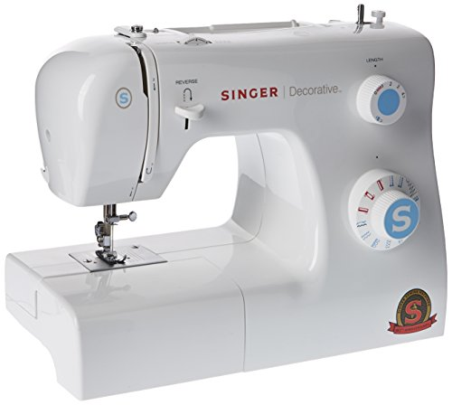 Singer Decorative Machine à Coudre Blanche 31 Points Ajustables