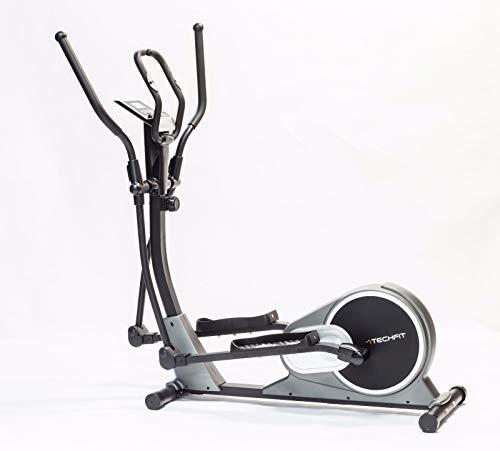 TechFit E500 Crosstrainer, Elliptisches Heimfahrrad für Heim - Gewichtsverlust-Geräte, Cardio- und Fitness-Übungen, magnetischer Widerstand für Innenräume