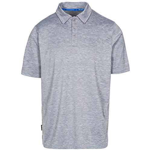 Trespass Monocle T-Shirt à séchage Rapide pour Homme XL Gris chiné