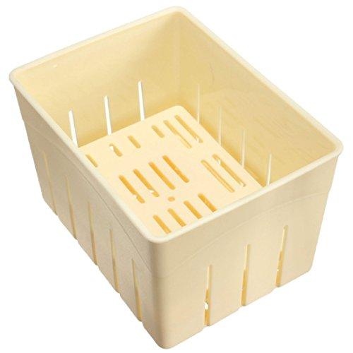 Homemade Tofu press-maker caja de moldeo de plástico fruta de soja Panificadora