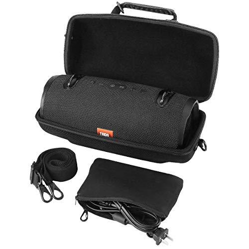 Khanka Hart JBL Xtreme 2/1 Tasche,mit Schulterriemen und ZubehörTasche Für JBL Xtreme 2/1 Musikbox portabler Bluetooth Speaker Lautsprecher Etui Case.