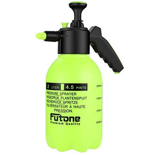 Futone 0.5 Gallon Hand Held Garden Sprayer Water Pump Pressure Sprayers for...