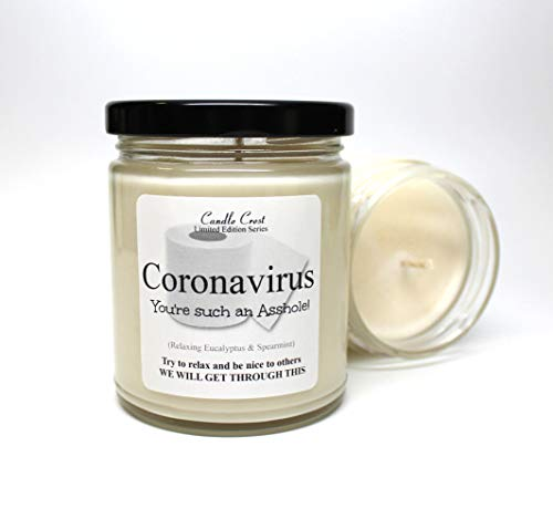 Coronavirus Candle 9oz Scented Soy Candle