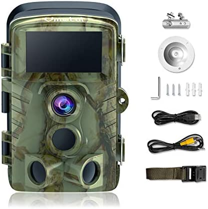 Vmotal Trail Camera with Night Vision 20MP 2160P 4K Game Camera 120 Monitoring Angle 0 2s Motion product image
