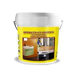 Imprimación Alta Adherencia Multisuperficia al agua. 1 Litro Blanco .Pinturas DECOLOR