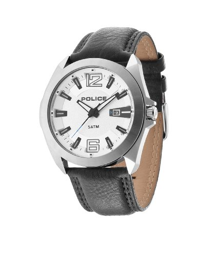 INTELIHANCE. 14103JS/04 - Reloj de Cuarzo para Hombre, con Correa de Cuero, Color Negro