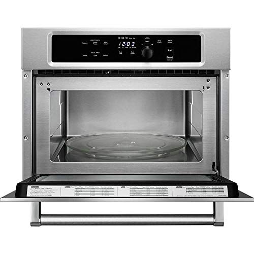 """KITCHENAID KMBS104ESS 24"""" Built-In Microwave With 27""""/30"""" Trim Kits"""