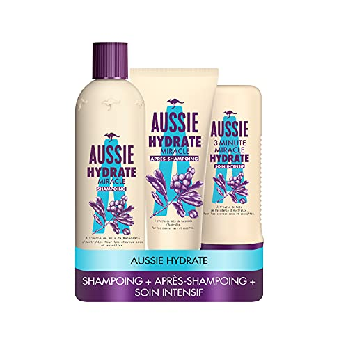 Aussie, Hydrate Miracle Shampoing 300ml,...