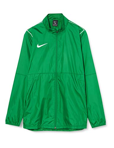 Nike Park20 Rain Jacket Veste Homme, Pine Green/White/(White), FR : S (Taille Fabricant : S)