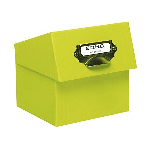 S.O.H.O. Papieren fotobox met passe-partout van Rössler® Standaard Celeste Y Blanco