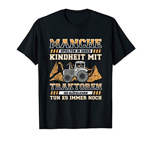 Traktor Landwirt Kindheit T-Shirt I Trecker Humor Geschenk