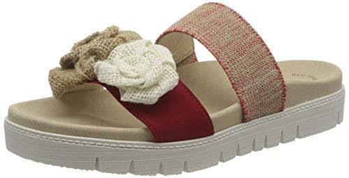 Gabor Shoes Gabor Jollys, Mules Femme, Rouge (Rubin 15), 43 EU