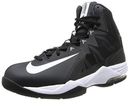 Nike Mens Air Max Stutter Step 2 Black/White/Stealth/Anthracite Basketball Shoe 9 Men US