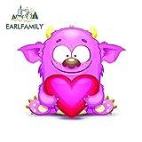JYIP 13cm x 10.2cm para Pink Love Graffiti Sticker Body para Coche Etiqueta a Prueba de arañazos Vin...