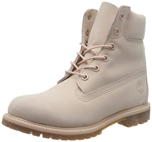 Timberland Damen Stiefel 6-Inch Premium Waterproof Boot, Pink, 41.5 EU