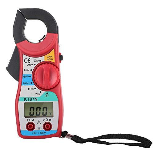 Digital Clamp Meter, Wal front, KT87N 20-400A Amperometro ad Alta Precisione Multimetro Digitale, Display LCD Digital Clamp Meter per Test di Casa e Industria